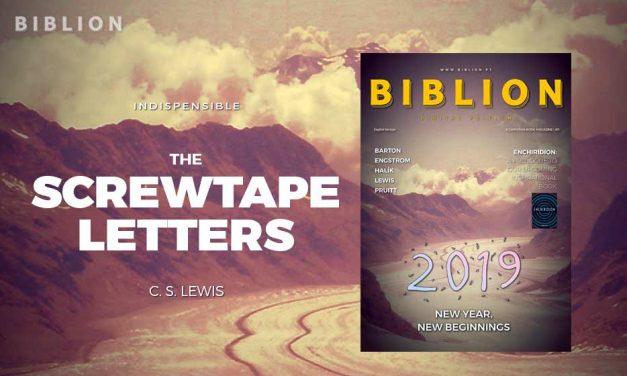 THE SCREWTAPE LETTERS – C. S. LEWIS